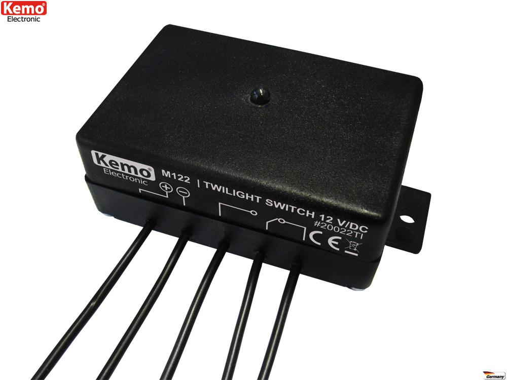 Dämmerungsschalter 12 V/DC